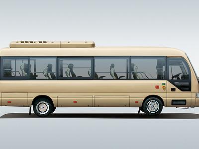 金龙大巴车图片