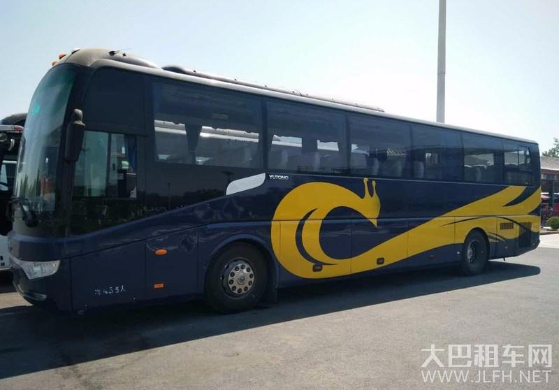 55座宇通大巴车旅游租车