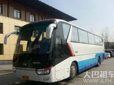 体检租车北京大巴租车到北戴河全新豪华大巴车旅游包车